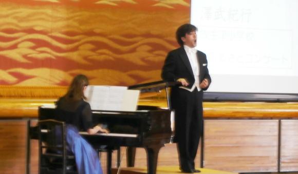 澤武さんとピアニストの竹内さん